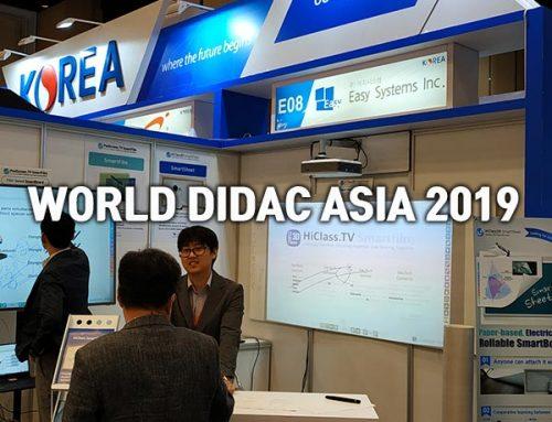 WORLDDIDAC ASIA 2019
